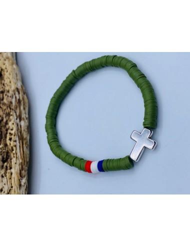 Bracelet JÜL 2 KAKI Homme