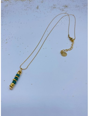 Collier TOÜR turquoise